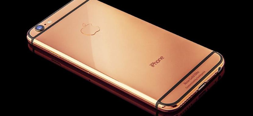 iphone oro rosa real Este iPhone 6s si que es de oro rosa realmente