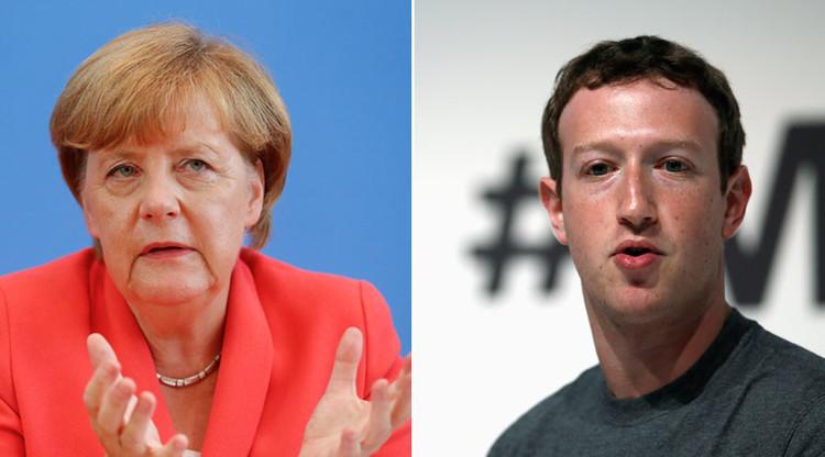 Merkel apremia a Zuckerberg para que atiende el odio racial en Facebook