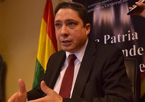 El procurador Héctor Arce. -   Apg Agencia