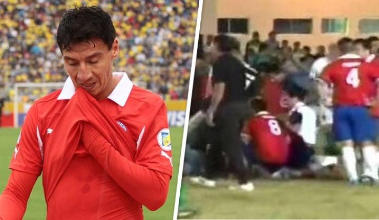 VIDEO: Ex futbolista Contreras sufrió paro cardíaco en pleno partido en Bolivia