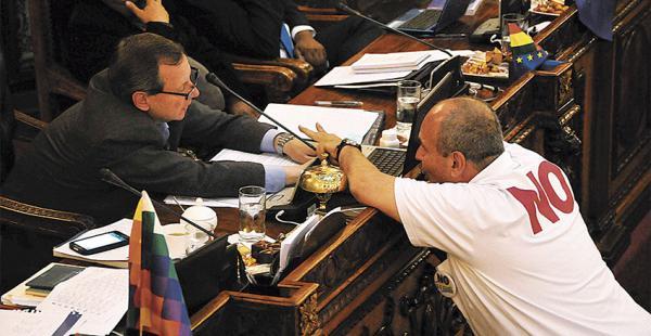 La Asamblea Legislativa aprobó el sábado la Ley de Necesidad de Reforma de la CPE