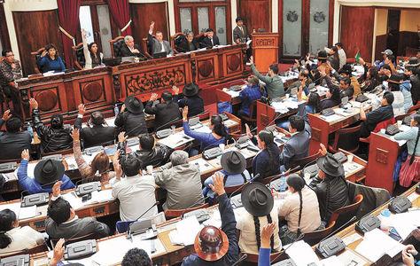 asamblea. La ley de necesidad de reforma constitucional debe ser aprobada por dos tercios. Foto: Wara Vargas-archivo