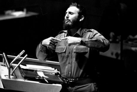 Fidel Castro en el discurso ante la ONU