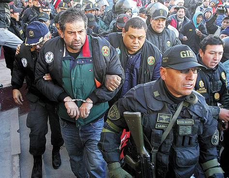 Proceso. El empresario peruano Martín Belaunde tras ser extraditado al Perú hace cuatro meses.