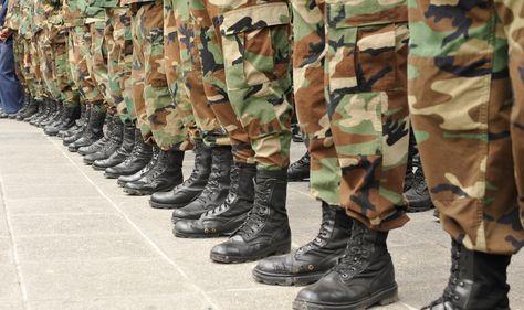 Botas de militares