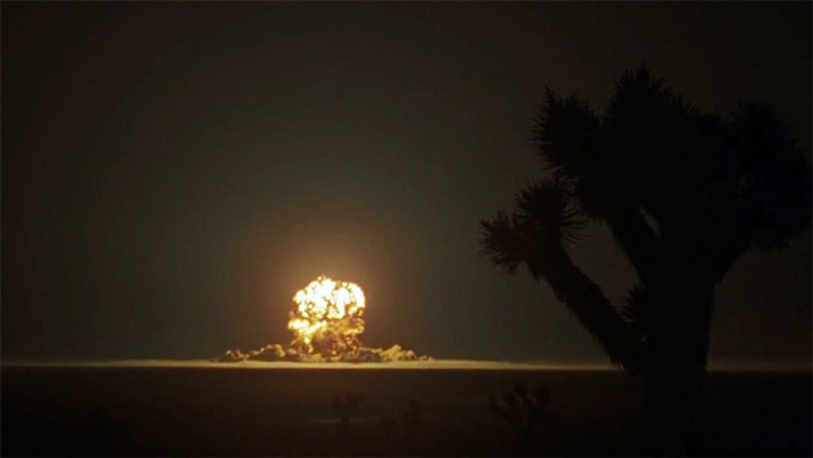 Imágenes inéditas de ensayos nucleares de EE.UU. de 1955
