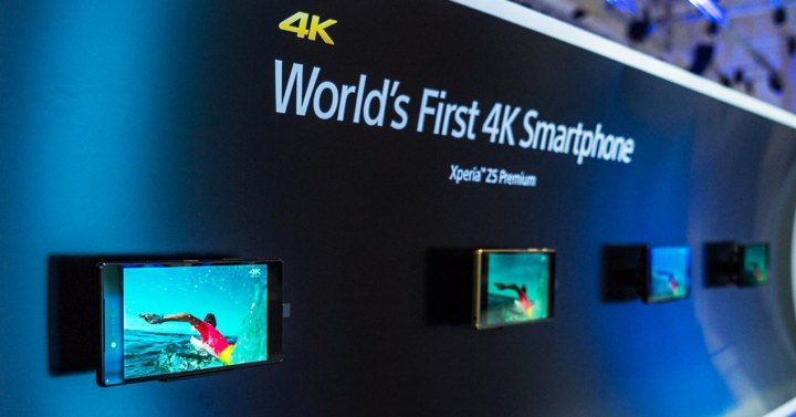 Pantalla 4K del Sony Xperia Z5 Premium