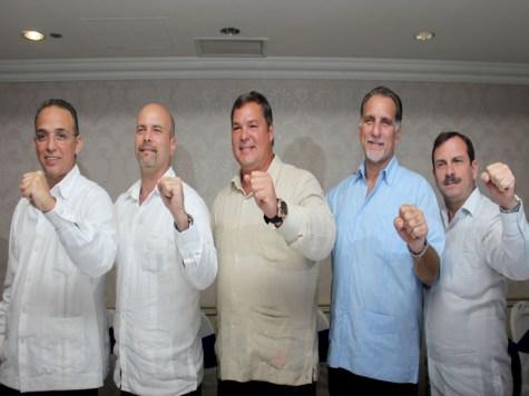 Los Cinco heores cubanos, Gerardo Hernández, Ramón Labañino, Antonio Guerrero, Fernando González y René González/Foto VD