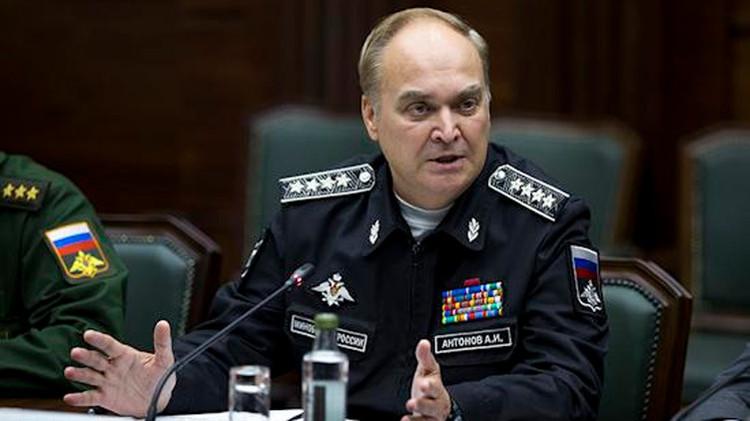 El viceministro de Defensa de Rusia, Anatoli Antónov