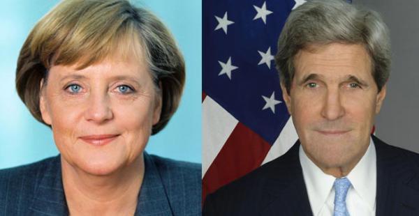 Merkel y Kerry son los favoritos, la primera por su apoyo a buscar un solución para la crisis migratoria y el segundo por las negociaciones para frenar expanción de armas nucleares