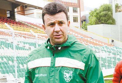 El técnico. La federación eligió a Julio César Baldivieso para dirigir la travesía de la Verde rumbo a Rusia 2018.