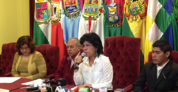 La presidenta del ente Electoral aseguró que no se negó el acceso a la información a medios de comunicación.