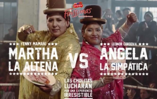 Las cholitas luchadoras hacen gira por España