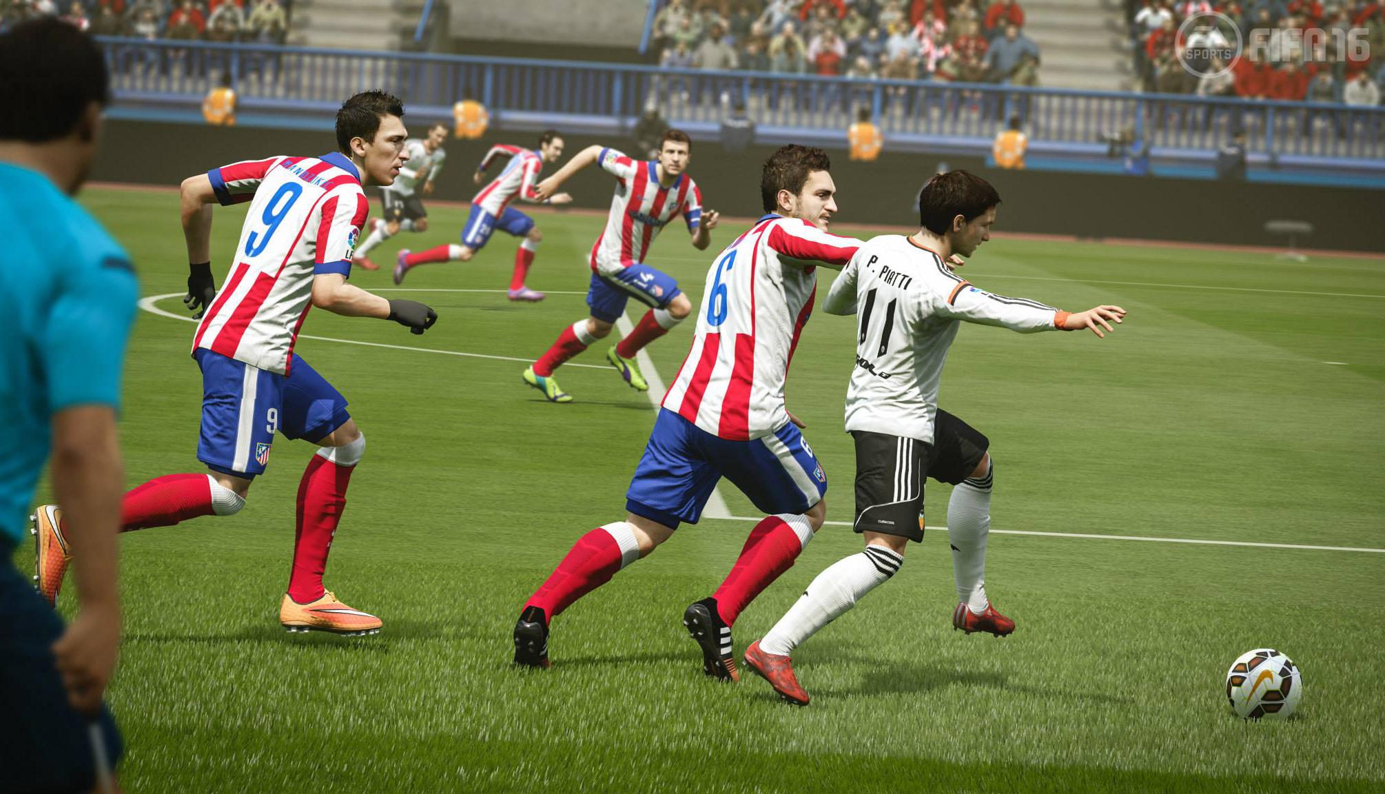 Hoy jugamos: FIFA 16