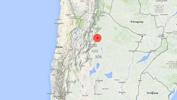 Un terremoto de magnitud 6 sacude Argentina