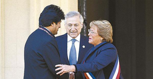 Los gobernantes de Bolivia y Chile definen estrategias para ir a La Haya