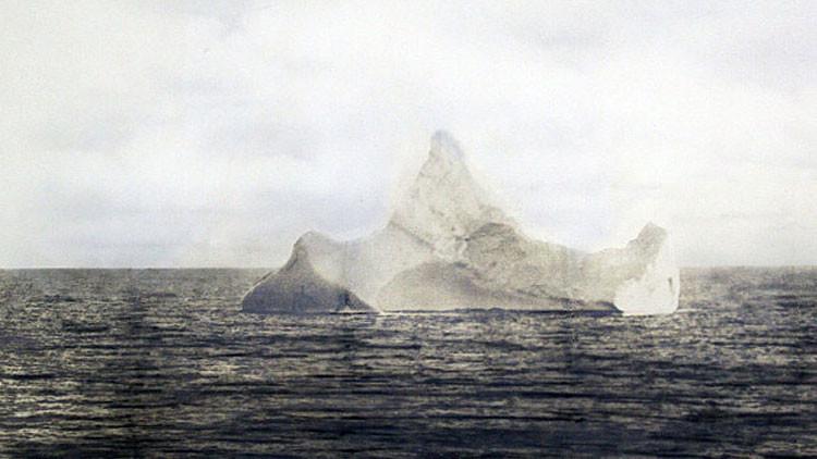 La única foto del iceberg que hundió el Titanic
