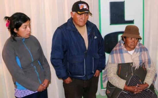 PRESENTACIÓN. Se trata de toda una familia de comerciantes de carne. - María René  Centellas La Prensa