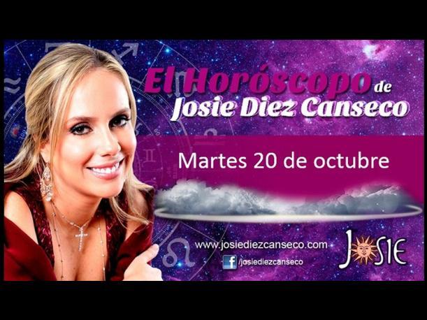 Josie Diez Canseco: Horóscopo del martes 20 de octubre (FOTOS)