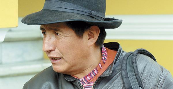 Desde que salió electo, Quispe lanzó duras críticas a la jefa de bancada de UD, Jimena Costa