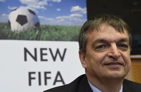 Jerome Champagne, exvicesecretario general de la FIFA. Foto: AFP