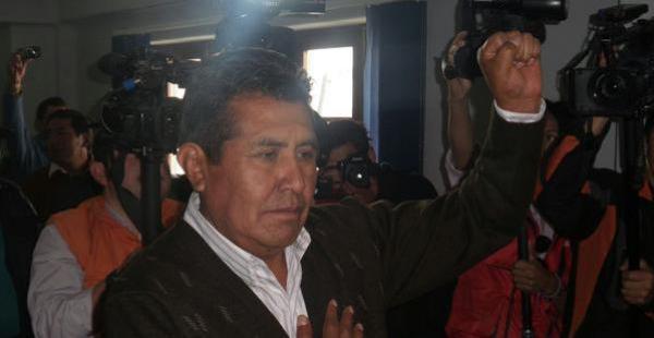 El expresidente de la Cámara de Senadores también ofició como viceministro de Desarrollo Rural junto a Nemesia Achacollo.