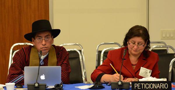 Gualberto Cusi, ante la Comisión Interamericana de Derechos Humanos, vuelve a acaparar atención