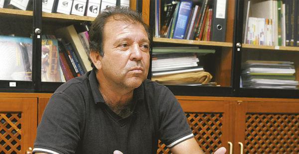 TRES VECES PRESIDENTE. Joaquín Banegas está en su última gestión