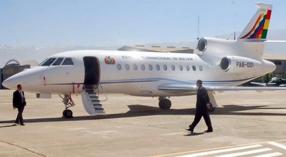 El avión presidencial partió desde el aeropuerto Jorge Wilstermann de Cochabamba con destino a Nueva York  - Min. de Comunicación Agencia