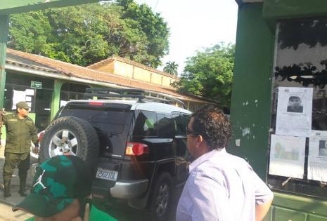 El líder de los 'mañaneros' fue detenido a las 7:30 de este viernes y trasladado a las instalaciones (foto) de la Fuerza Especial de Lucha Contra el Crimen