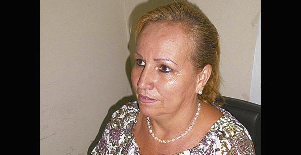 La señora Damaris Ribera, declaró ayer y quedó detenida