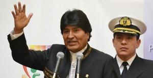 Evo anuncia que Bolivia será primero en crecimiento económico en la región