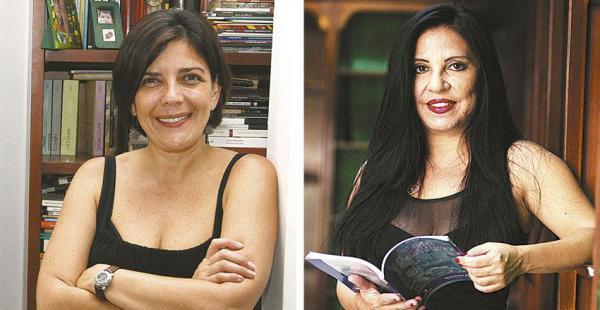 Magela Baudoin, finalista con su libro de cuentos | Giovanna Rivero, ganadora del Cosecha Eñe