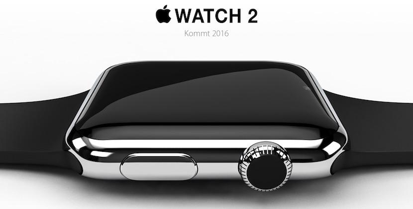 Concepto Apple Watch 1 El Apple Watch 2 podría ser así