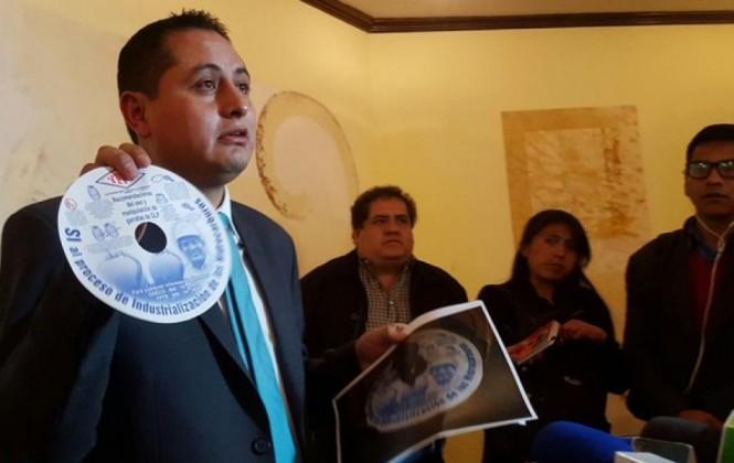 Presidente de YPFB niega que se realice campaña por el Sí en garrafas de GLP