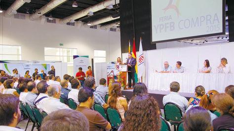 Santa Cruz. El 17 de marzo se realizó el Primer Encuentro con Proveedores, previo a la feria YPFB Compra.