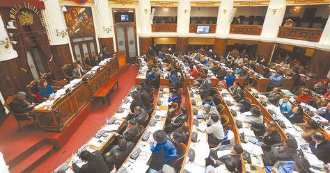 Fiscalización. La Asamblea Legislativa Plurinacional intervendrá en el caso de los reportes secretos filtrados por WikiLeaks sobre Bolivia.