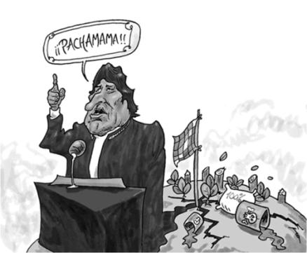Caricatura de Trond