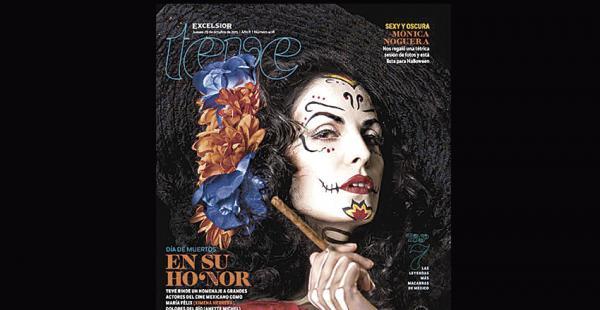 La boliviana protagoniza la telenovela El señor de los cielos 2 (Unitel). Con este maquillaje apareció en la portada