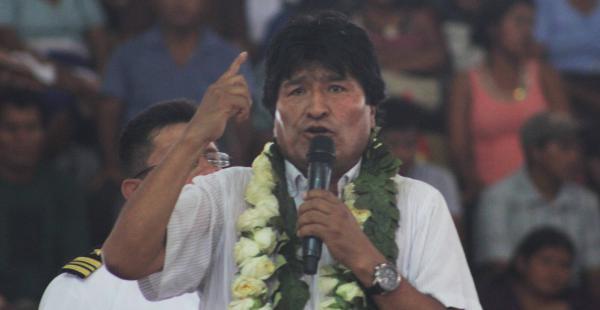 Evo Morales dijo que Chile quería 'escaparse' de la Corte Internacional de Justicia de La Haya