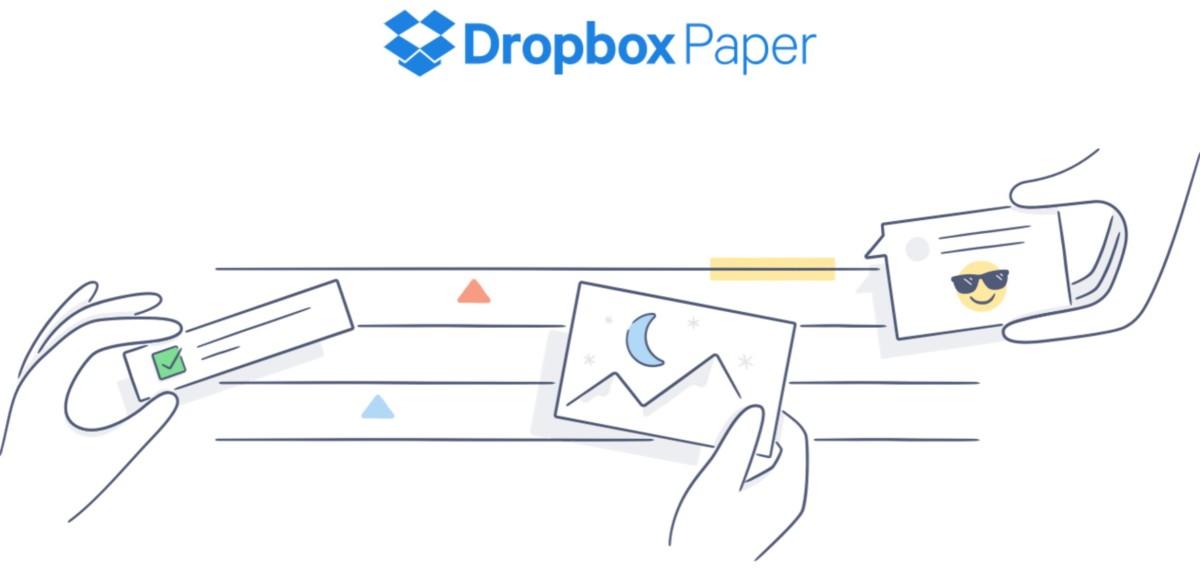 Dropbox Paper Paper, la alternativa de Dropbox a Google Docs