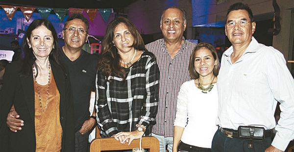 MILIARES Liliana Álvarez, Jaime Lozano, Mónica Vera, David Lozano, Evelyn Rocha y Boris Rocha