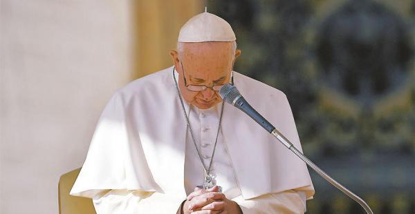 El papa Francisco expresó su desconsuelo por los casos de abusos sexuales denunciados