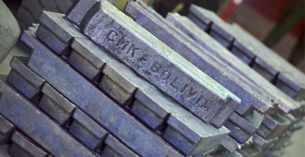 La empresa Vinto realizó un préstamo de 200 kilos de plata ante el pedido que realizó Karachipampa para su producción de lingotes