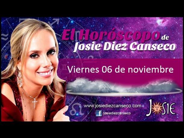 Josie Diez Canseco: Horóscopo del día 6 de noviembre (FOTOS)