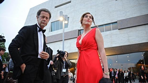 Maria Elena Boschi a la llegada a un concierto en Florencia