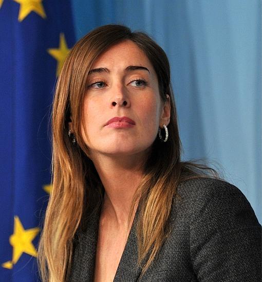 Maria Elena Boschi en una imagen de archivo