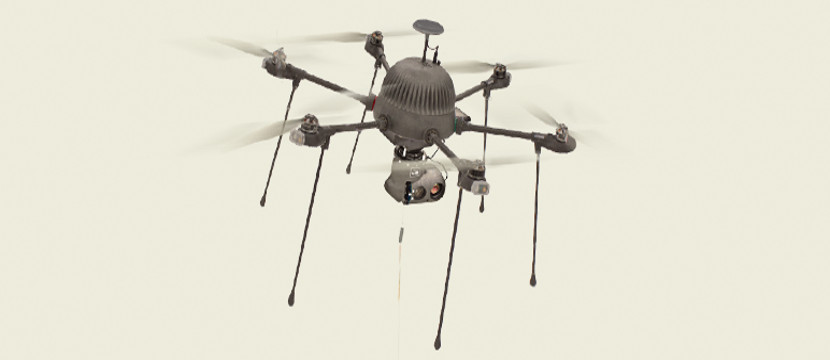 parc PARC, un dron con una autonomía casi ilimitada