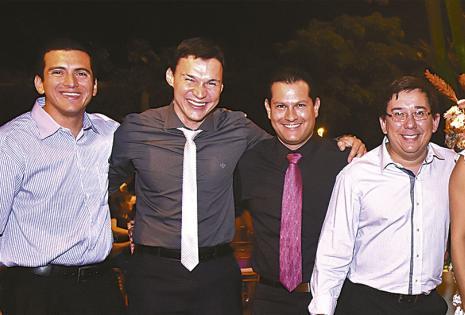 Dijeron presente Sergio Otterburg, Joaquín Zankyz, Mauricio Caballero y Jorge Franco