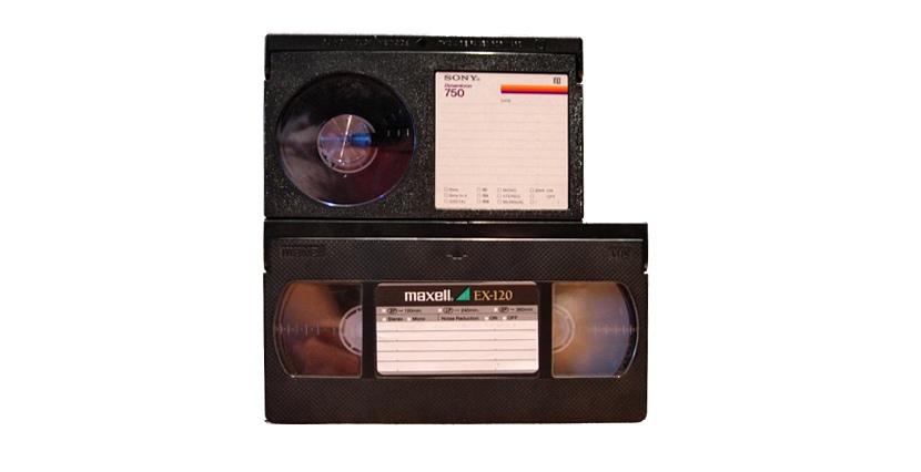 cinta beta vs vhs Sony deja de fabricar cintas para Betamax